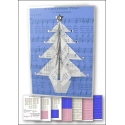 Download - Card Kit - Music Origami Christmas Tree card