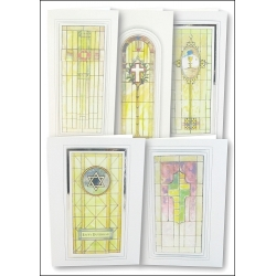 Download - Set - Religious Stained Glass Windows