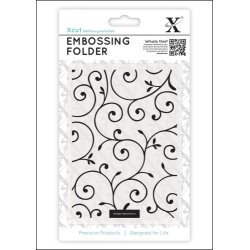 A6 Embossing Folder - Delicate Flourishes (XCU 515126)