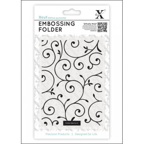 A6 Embossing Folder - Delicate Flourishes (XCU 515126)