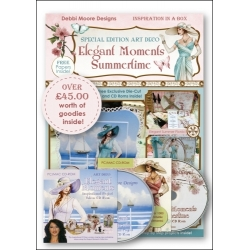 CD - Debbi Moore - Elegant Moments Summertime Inspiration in a Box
