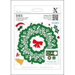 Dies (12pcs) - Filigree Wreath (XCU 504040)