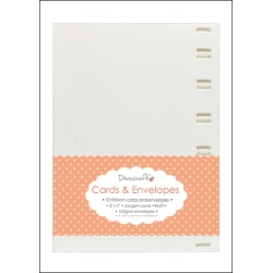 "Dovecraft Ribbon 5""x7"" Cards & Envelopes (DCCE013)"