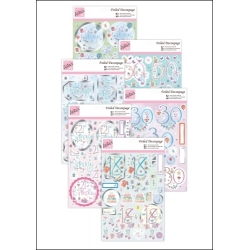 Foiled Decoupage Special Birthdays pack (ANT 169607/10/14/15/16/17)