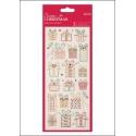 Glitter Dot Stickers - Christmas Presents (PMA 818924)