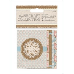 Memory Pockets (5pcs) - Craft Collection Pastels (PMA 157250)