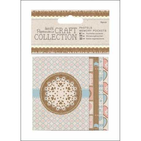 Memory Pockets (5pcs) - Craft Collection Pastels (PMA 157250)