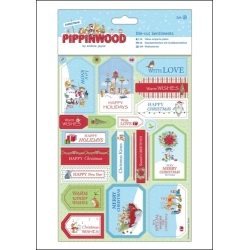 Pippinwood Christmas Die-cut Sentiments (PMA 157923)