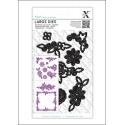 Xcut Large Dies - Floral Frame 9pcs (XCU 503234)