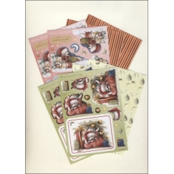 Wellington A6 Decoupage pack