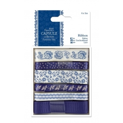 1m Ribbon (6pcs) - Capsule - Parisienne Blue (PMA 367111)