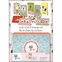 Little Meow Little Meow Craft Card Compendium (PMA 105102)