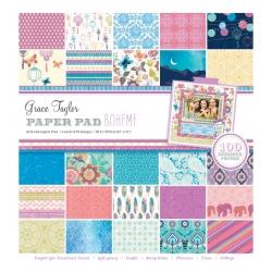 Grace Taylor Boheme 100 Sheet Paper Pad (GS2733)