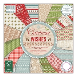 First Edition 12x12 Paper Pad Christmas Wishes (FEPAD098X15)