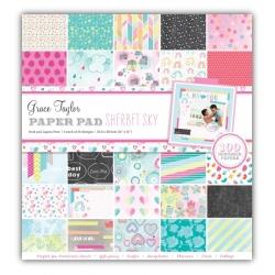Grace Taylor Sherbet Sky 100 Sheet Paper Pad (GS2723)