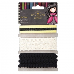 1m Trims (3pcs) - Simply Gorjuss (GOR 367203)