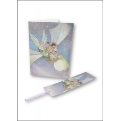 Download - Set - Fairy & Fantasy Backgrounds, Cards, Tags & Bookmarks