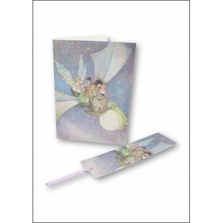Download - Set - Fairy & Fantasy Backgrounds, Cards, Tags &