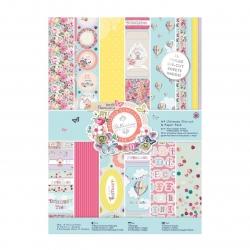 A4 Ultimate Die-cut & Paper Pack Foiled (48pk) - Bellissima (PMA 160179)