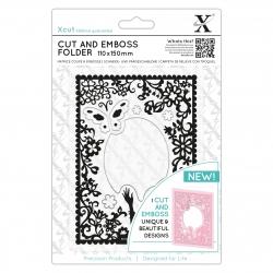 110 x 150mm Cut & Emboss Folder - Elegant Lady (XCU 503814)