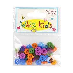 Whiz Kids Plastic Buttons (REBTN001)