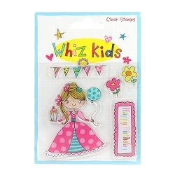 Whiz Kids Clear Stamp Princess (RESTP003)