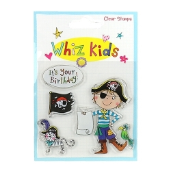 Whiz Kids Clear Stamp Pirate (RESTP001)