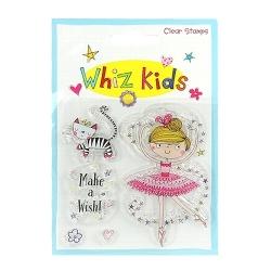Whiz Kids Clear Stamp Ballerina (RESTP004)