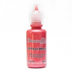 Dovecraft Pearl Effects - Brights, Red (DCBS92)