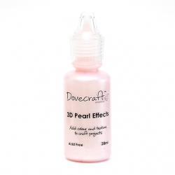 Dovecraft Pearl Effects - Pastel Pink (DCBS91)