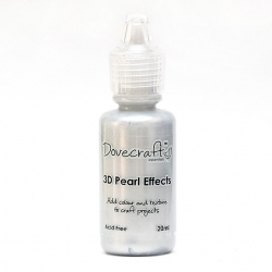 Dovecraft Pearl Effects - Brights, Silver (DCBS92)