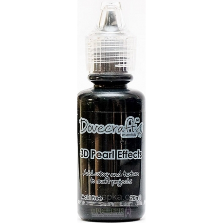 Dovecraft Pearl Effects - Brights, Black (DCBS92)
