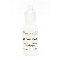 Dovecraft Pearl Effects - Clear (DCBS91)