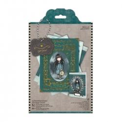 A5 Embellished Framed Decoupage Card Kit - Simply Gorjuss (GOR 169110)