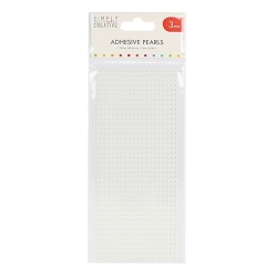 Simply Creative 3mm Pearls 800 pack - Ivory (SCDOT044)