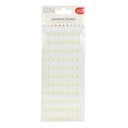 Simply Creative 10mm Pearls 88 Pack - Ivory (SCDOT046)