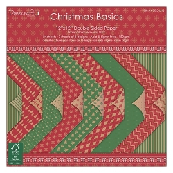 Dovecraft Christmas Basics 12x12 Backings Pad (DCPAP007X15)