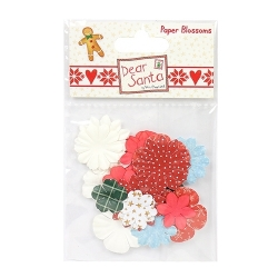 Dear Santa by Helz Cuppleditch Paper Blossoms (HCFLW002X16)