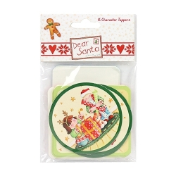 Dear Santa by Helz Cuppleditch Character Toppers (HCTOP003X16)