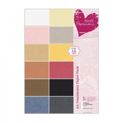 A4 Pearlescent Paper Pack, 24pk (PMA 160170)