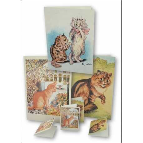 Download - Set - Louis Wain and Quirky Cats - Prints and