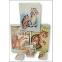 Download - Set - Louis Wain and Quirky Cats - Prints and Notecards