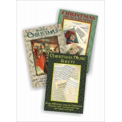 Public Domain 3 DVD Christmas Collection inc Pictures, Music & Poems