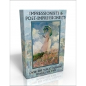 Public Domain Image DVD - Impressionists & Post-Impressionists