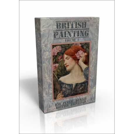 Public Domain Image DVD - British Painting vol.1
