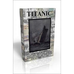 Public Domain Image DVD - Titanic Scrapbook