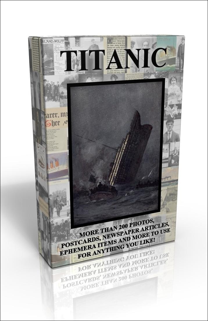 public domain image dvd titanic scrapbook this brand new