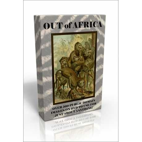 Public Domain Image DVD - Out of Africa