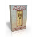 Public Domain Image DVD - Art Nouveau Stained Glass Designs
