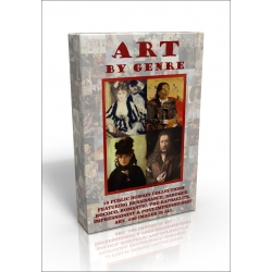 Public Domain Image DVD - Art by Genre